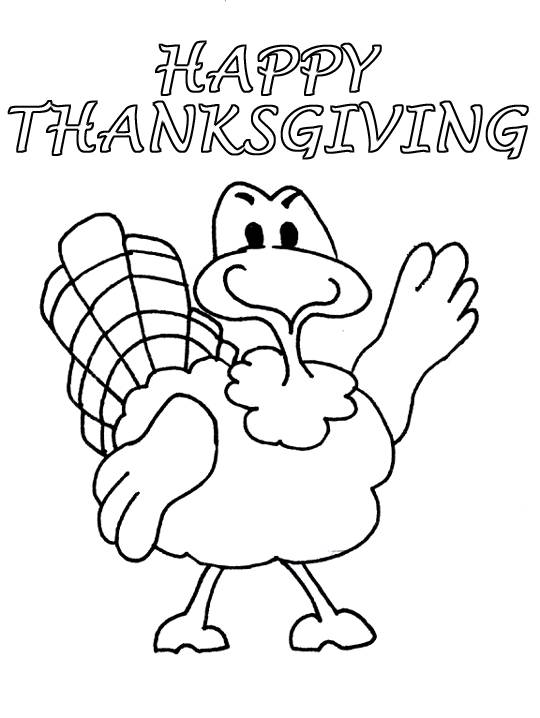 Thanksgiving Coloring Pages for