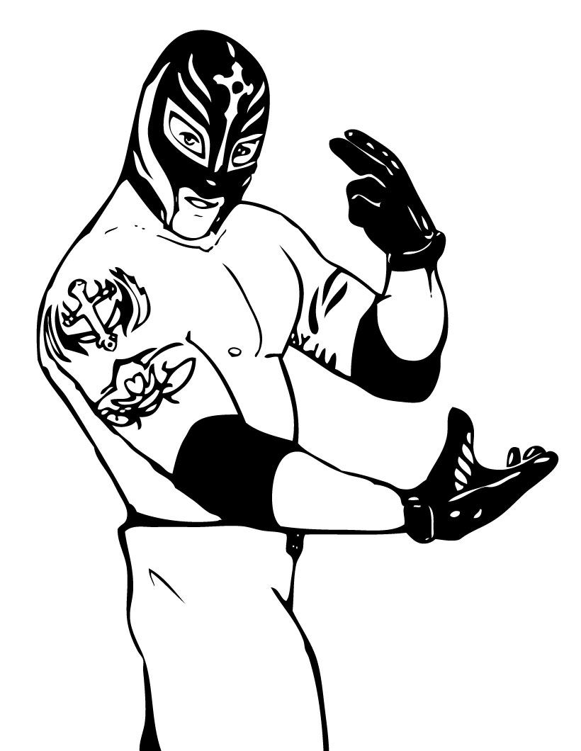 Wwe Coloring Pages Z31 Coloring Page