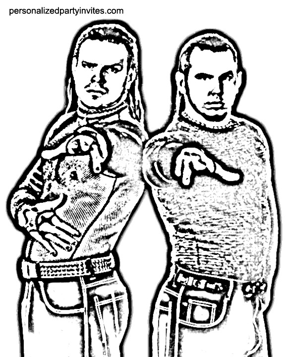 WWE Coloring Pages Z31 Coloring