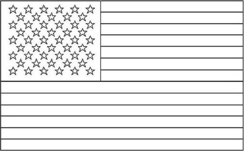 American Flag Coloring Pages 2018 Z31 Page