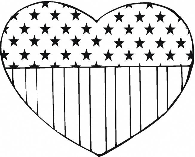 American flag coloring pages 2018- Z31 Coloring Page
