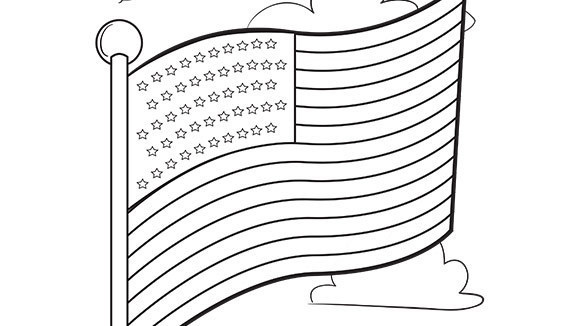 American flag coloring pages 2017 Z31 Coloring Page