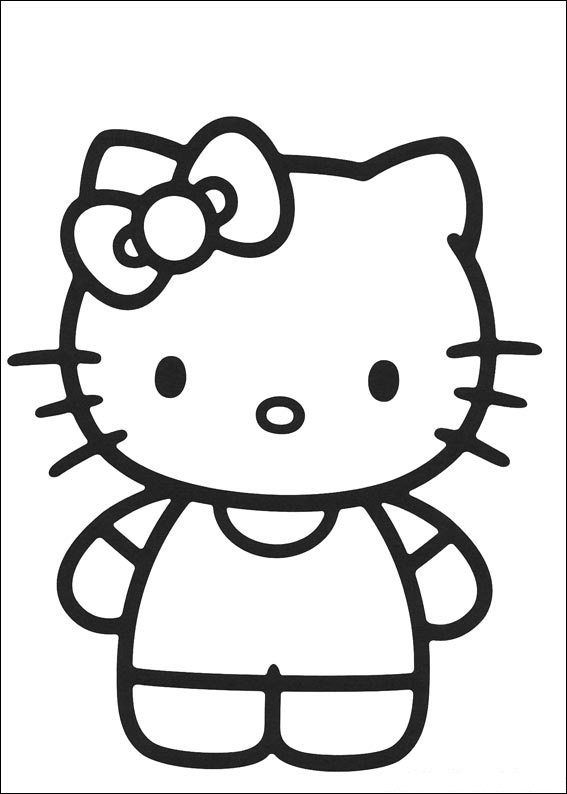 Coloring Pages Hello Kitty Z31 Coloring Page