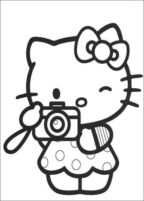 Hello Kitty Turkey Coloring Pages : Coloring pages hello kitty z page