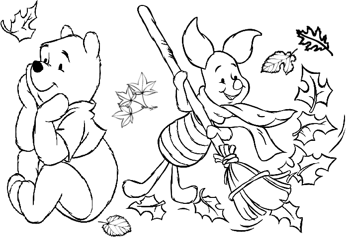 Fall Coloring Pages 2017- Z31 Coloring Page