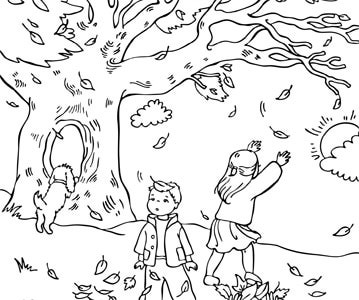 Fall Coloring Pages 2018 Z31 Coloring