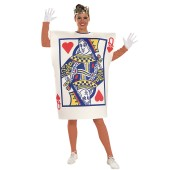 Queen of Hearts Card  Adult Costume