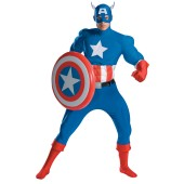 Captain America Deluxe Adult Muscle Costume
