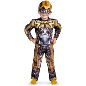 Transformers 3 Dark of the Moon Movie - Bumblebee Muscle Toddler / Child Costume