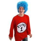 Dr. Seuss Thing 1 Plus Adult Costume Kit