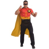 DC Comics Robin Muscle Chest Adult Costume Kit