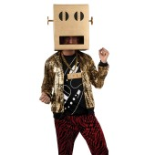 LMFAO Shuffle Bot Party Rock Anthem Adult Costume