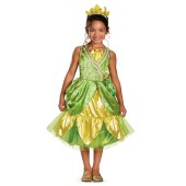 Disney Tiana Deluxe Sparkle Toddler / Child Costume