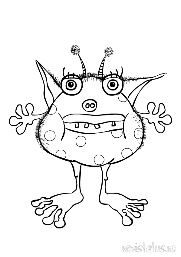 Monster Coloring Pages 2018 Z31