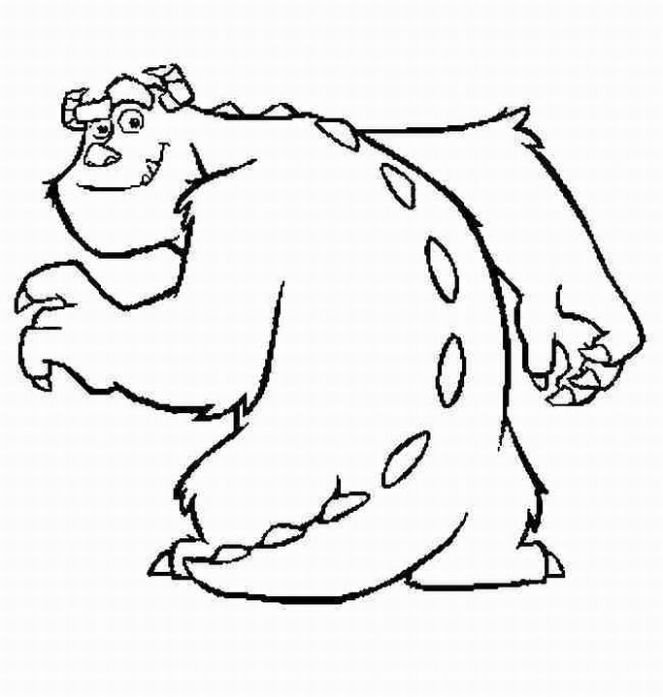 Monster Coloring Pages 2019- Z31 Coloring Page