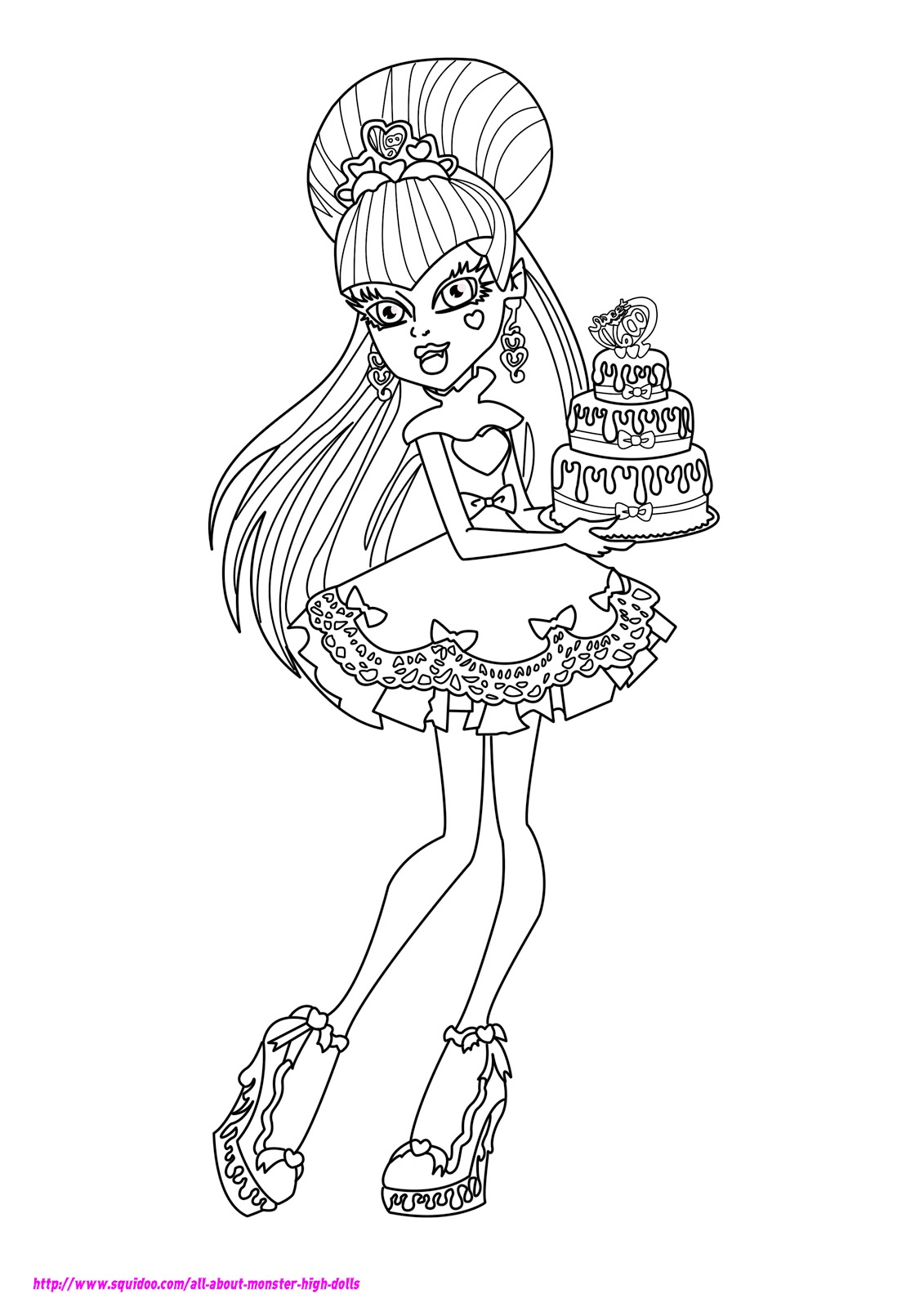 monster high coloring pages 2017 z31 coloring page