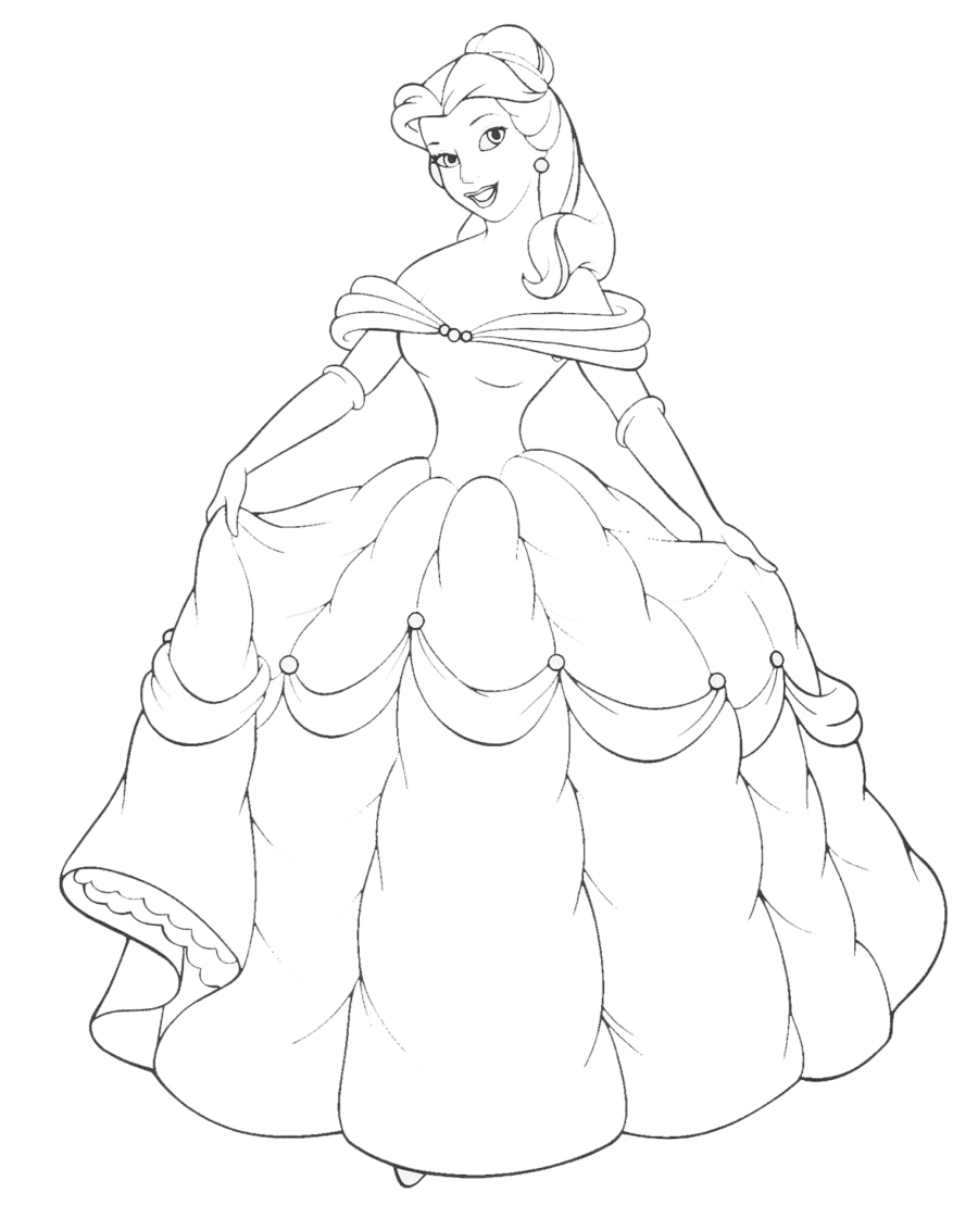 Princess Coloring Pages 2019 Z31 Coloring Page