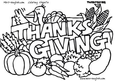 Thanksgiving Coloring Pages - Z31 Coloring Page