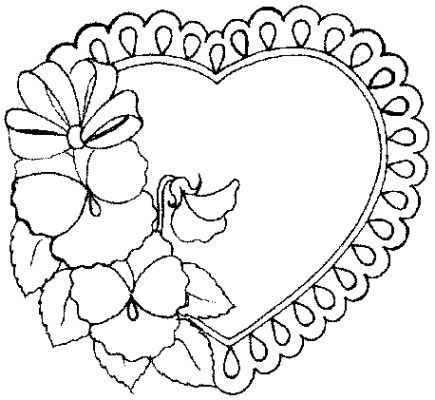 Valentine Coloring Pages 2018- Z31 Coloring Page