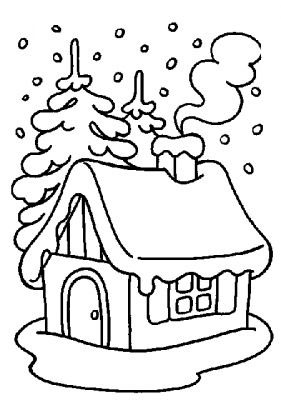 Winter Coloring Pages Z31