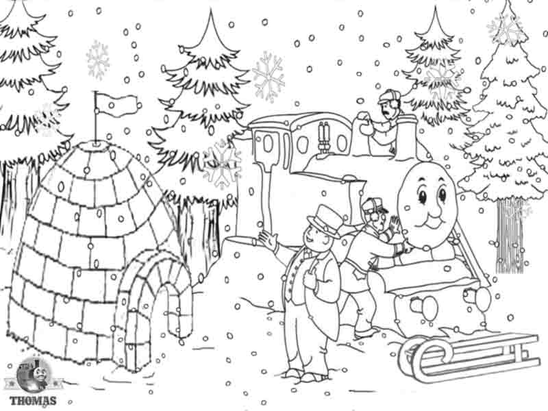 Coloring Pages For Winter Wonderland.  Winter Coloring Pages 2018 Dr Odd